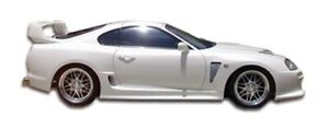 Td3000 Wide Body Side Skirts Body Kit Rocker Panels 2 For Toyota Supra