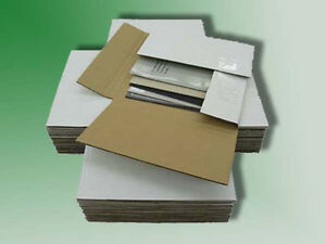 50 45 Rpm Record Mailer Boxes 100 7 5 X 7 5 Filler Pads Ships Free