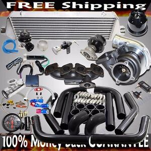 Gt35 Turbo Kit For 87 92 Vw Jetta Golf Gli 16 valve 2 0l 1984cc T3