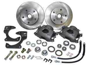 1963 70 Chevy C10 Truck Front Stock Spindle Disc Brake Wheel Kit 5 lug
