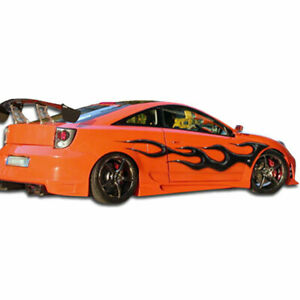 Xtreme Side Skirts Rocker Panels 2 Piece Fits Toyota Celica 00 05 Duraflex