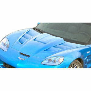 C6 Zr Edition 2 Hood 1 Piece Fits Chevrolet Corvette 05 13 Duraflex