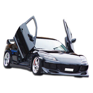R speed Body Kit 4 Piece Fits Mazda Rx 8 04 08 Duraflex
