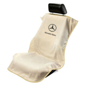 Seat Armour Universal Tan Towel Front Seat Cover For Mercedes Benz
