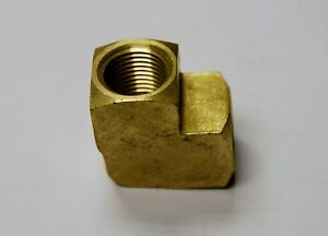 Brass Fittings Brass Elbow Extruded Female Pipe Size 3 4 Qty 25