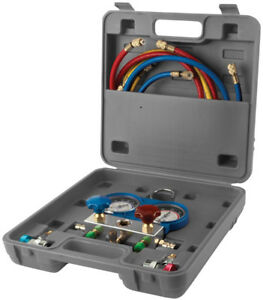 Performance Tool Air Conditioner Manifold Gauge Test Kit Pftw89730