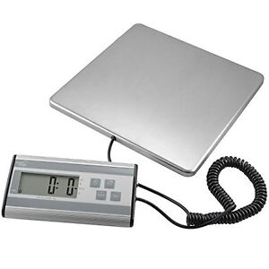 Smart Weigh Usps Ups Digital Postal Scale Heavy Duty Stainless Steel 440lbs
