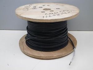 apprx 200ft Roll Stranded 10awg Sewf 2 10 Wire Cable 600v 150 C Black