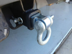 Bow Shackle D Ring Receiver For Towing Class Iii Hitch