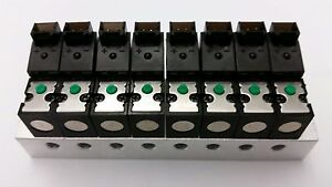 8 Solenoid Valves With Manifold Dc12v