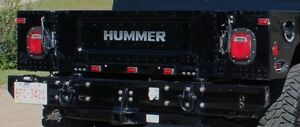 Bumper Hummer H1 Hmmwv Humvee Rear Heavy Duty Airlift 6008799