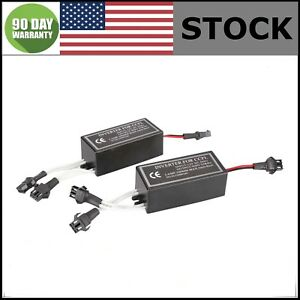 2x Spare Inverter Ballast For 12v Ccfl Angel Eye Halo Ring Kit Replacement Male