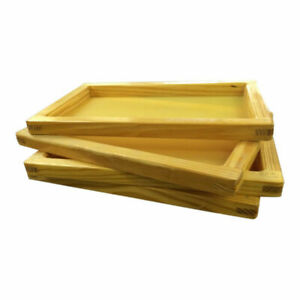 Silk Screen Frame For Screen Printing 14x14 With High Quality Yellow 380 Mesh