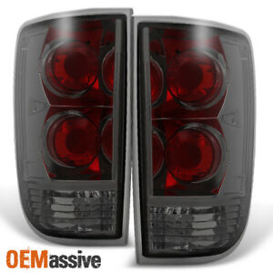 Fit 1995 2004 Chevy Blazer S10 Gmc Jimmy Envoy Smoke Taillights Replacement
