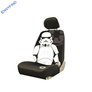 New Front Lowback Seat Cover Disney Star Wars Storm Trooper Galactic Empire