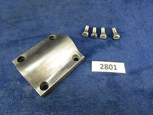 1905 Rivett 608 Lathe Carriage Lead Screw Nut Cover 2801