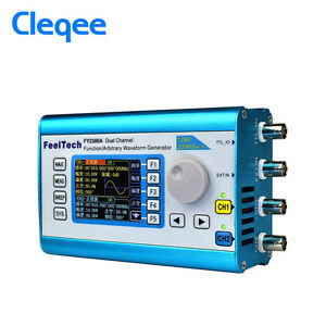 6mhz Arbitrary Waveform Dual Channel Signal Generator 200msa s 100mhz Frequency