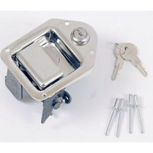 Dee Zee Dztblatch3 Stainless Steel Post Style Replacement Tool Box Latch
