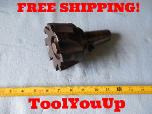 Kwik Switch 300 Tool Holder With Greenleaf 4 Dia Face Mill Machine Shop Tooling