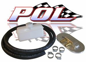 Performance Online Master Cylinder Remote Fill Reservoir Cap Kit Universal