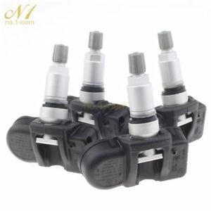 Us 4x A0035400217 New Tire Pressure Monitor Sensor Tpms For Mercedes Benz C300