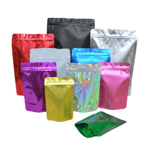 Stand Up Zip Lock Pouch Bags Standing Pouches Smell Proof Bags Free Shipping