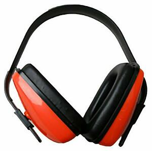Shield safety Adjustable Ear Muff Anti Noise Hearing Protector 25 Nrr 6 Pcs