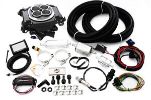 Holley Black Sniper Efi Fuel Injection System Complete Master Kit 550 511k