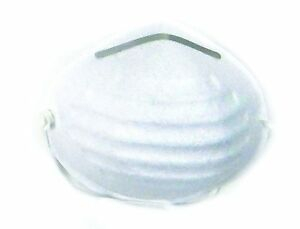 Shield safety White N95 Without Valve Respirator 80 Count