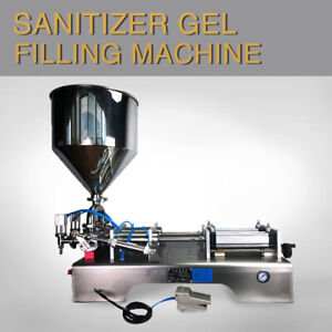 Double Head Paste Filling Machine For Shampoo cream sauce honey 10 5000ml