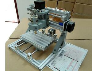Diy Mini 3 axis Cnc Router Engraver Carving Machine For Pcb Pvc Milling Wood Y