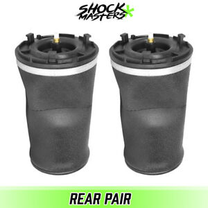 Rear Pair Air Ride Suspension Air Bag Springs For 2002 2009 Chevy Trailblazer