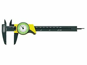 General Tools 142 6 inch English And Metric Plastic Dial Caliper