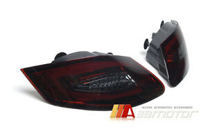 Taillights Led Tail Rear Light Smoke Red For 05 08 Porsche Boxster 987 Cayman