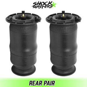 Rear Pair Air Ride Suspension Bags Springs For 2002 2009 Chevrolet Trailblazer