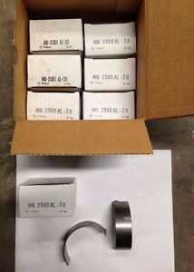 Clevite Main Bearings Ms 906 Al 20 Fits Ford Tractor