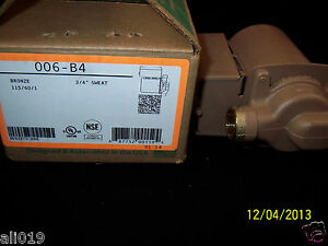 Taco 006 b4 Bronze Circulating Pump 3 4 Sweat Circulates Water Wood Boiler