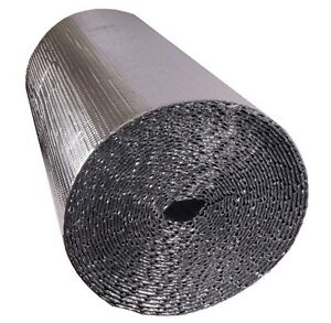 Silver Double Foil With Single double Bubble Insulation All Sizes Available