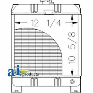 A 86561696 Ford Tractor Radiator 1100
