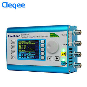 60mhz Dual Channel High Frequency Signal Generator 250msa s 100mhz Meter Dds