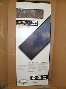 Sunfilm 15w Solar Battery Charger
