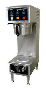 Wilbur Curtis Gem 300 Il Automatic Shuttlesatellite Coffee Brewer Maker W faucet