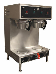 Wilbur Curtis Gem 12 Dual Automatic Satellite Coffee Brewer Maker Machine