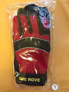 Mie Rove Cold Weather Impact protective Work Outdoor Sport Gloves Red
