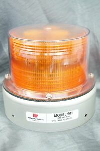 New Federal Signal Amber Beacon Light 901 Amber Incandescent