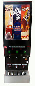 Cecilware Gb3m ld Three Flavor Cappuccino Machine Dispenser