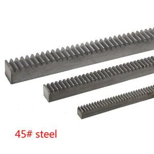 1pcs 3 0mod 30 30 1000mm Gear Rack 3 0module 45 Steel Gear Rack