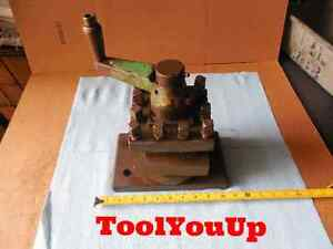 Indexable Turret Lathe Tool Post Holds 1 3 4 Or Smaller Tools 4 Position 5 1 2