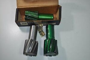 Lot Of 3 Sonnet Tool Milling Cutter End Mills 8 Flute 2 Dia 1 1 4 Shk Eth x200