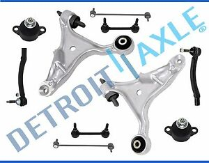 New 10pc Complete Front Rear Suspension Kit For Volvo S60 V70 Fwd Only